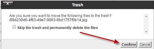 كيفية حذف ملف قديم من لوحة تحكم السى بانل  (Cpanel) 12